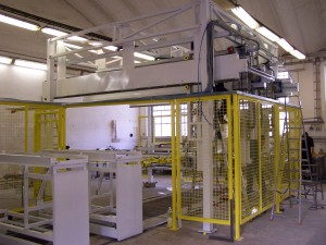 full automated machine manipulate for automotive indastry
